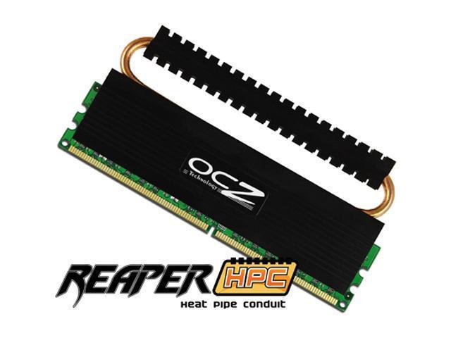 OCZ Reaper 2GB (2 x 1GB) 240-Pin DDR2 SDRAM DDR2 800 (PC2 6400) Dual Channel Kit Desktop Memory Model OCZ2RPR800EB2GK