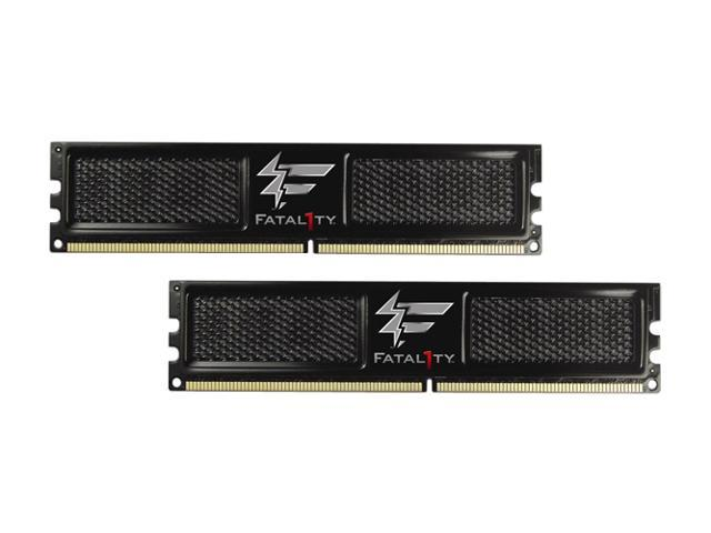 OCZ Fatal1ty Edition 4GB (2x2GB) 240-Pin DDR2 SDRAM DDR2 800 (PC2 6400) Dual Channel Kit Desktop Memory  (The Official Memory of the Championship Gaming Series)