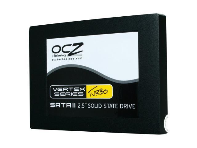 """OCZ Vertex Turbo OCZSSD2-1VTXT60G 2.5"""" 60GB SATA II MLC Internal Solid State Drive (SSD)"""