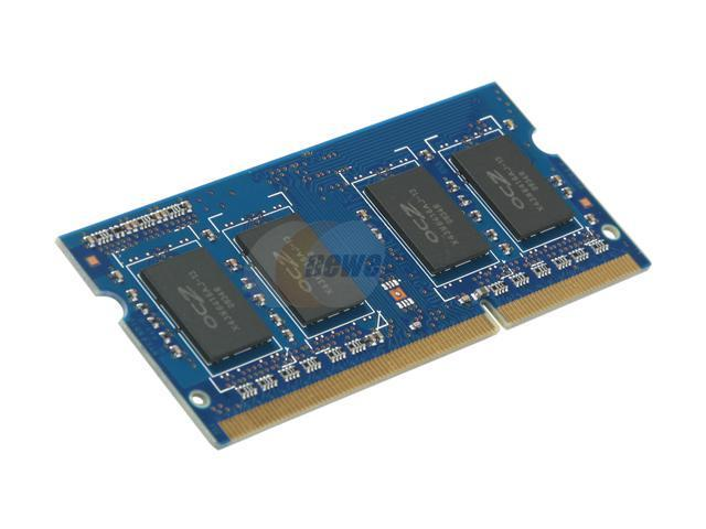 OCZ 1GB 204-Pin DDR3 SO-DIMM DDR3 1333 (PC3 10666) Laptop Memory Model OCZ3M13331G