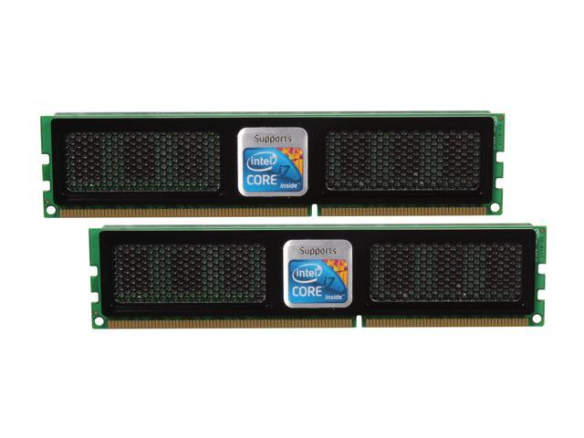 OCZ 4GB (2 x 2GB) 240-Pin DDR3 SDRAM DDR3 1600 (PC3 12800) XMP-Ready Rev.2 Desktop Memory Model OCZ3X1600R2LV4GK