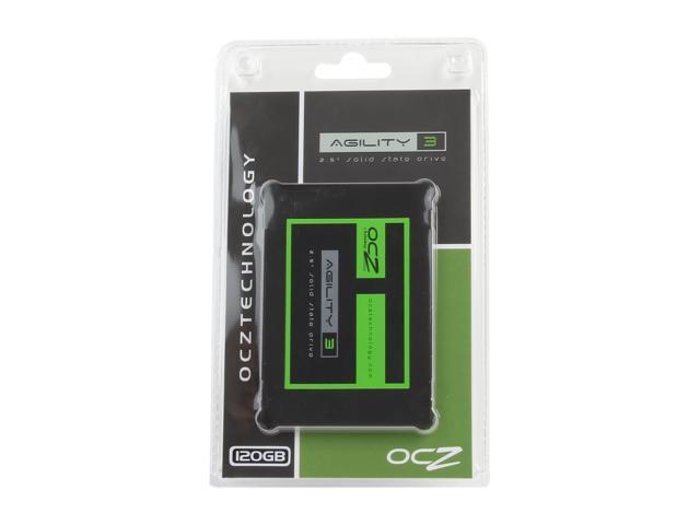 "OCZ Agility 3 2.5"" 120GB SATA III MLC Internal Solid State Drive (SSD) AGT3-25SAT3-120G"