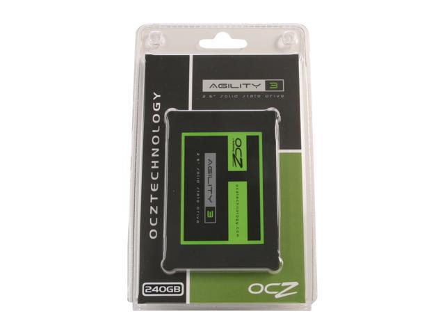 "OCZ Agility 3 2.5"" 240GB SATA III MLC Internal Solid State Drive (SSD) AGT3-25SAT3-240G"