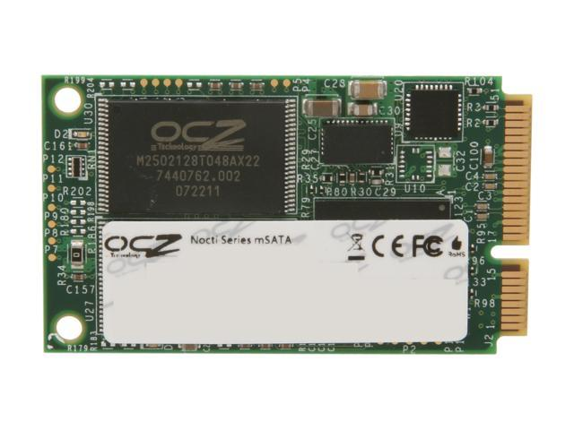 OCZ Nocti Series 60GB Mini-SATA (mSATA) MLC Internal Solid State Drive (SSD) NOC-MSATA-60G