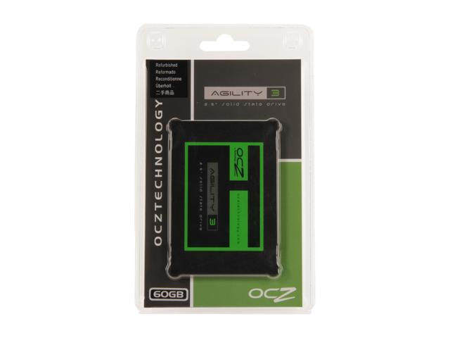 "Manufacturer Recertified OCZ Agility 3 2.5"" 60GB SATA III MLC Internal Solid State Drive (SSD) AGT3-25SAT3-60G"