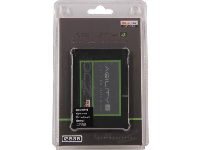 "Manufacturer Recertified OCZ Agility 4 2.5"" 128GB SATA III MLC Internal Solid State Drive (SSD) AGT4-25SAT3-128G"