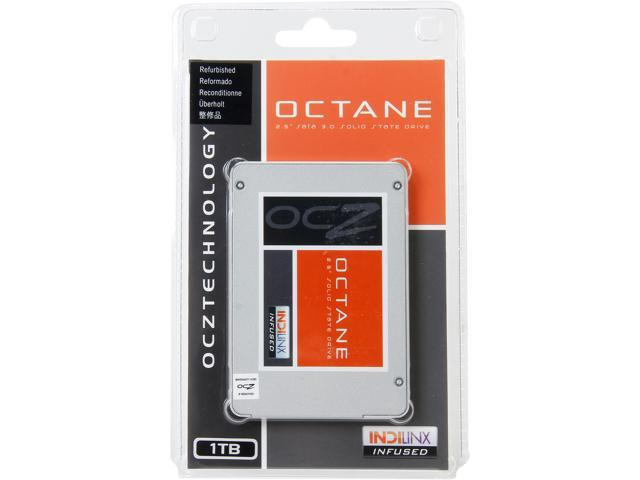 """Manufacturer Recertified OCZ Octane 2.5"""" 1TB SATA III 2Xnm Synchronous Mode Multi-Level Cell (MLC) Internal Solid State Drive ..."""