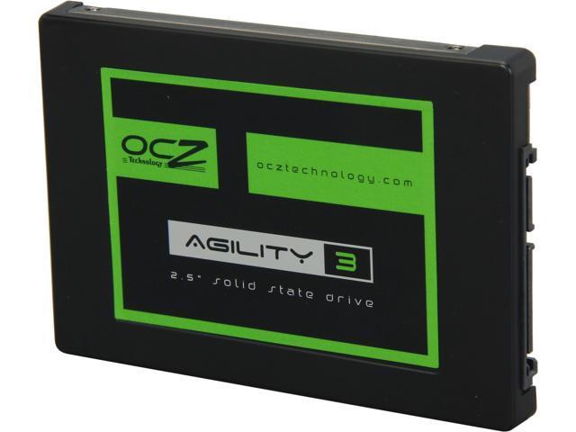 "OCZ Agility 3 2.5"" 480GB SATA III MLC Internal Solid State Drive (SSD) AGT3-25SAT3-480G.RF"