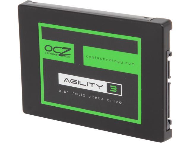 "OCZ Agility 3 2.5"" 128GB SATA III MLC Internal Solid State Drive (SSD) AGT3-25SAT3-128G.RF"