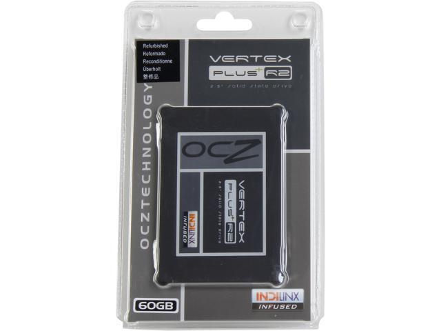 """OCZ Vertex Plus R2 2.5"""" 60GB SATA II MLC Internal Solid State Drive (SSD) VTXPLR2-25SAT2-60G"""