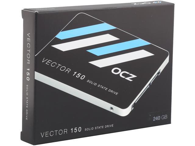 "OCZ Vector 150 Series 2.5"" 240GB SATA III MLC Internal Solid State Drive (SSD) VTR150-25SAT3-240G"