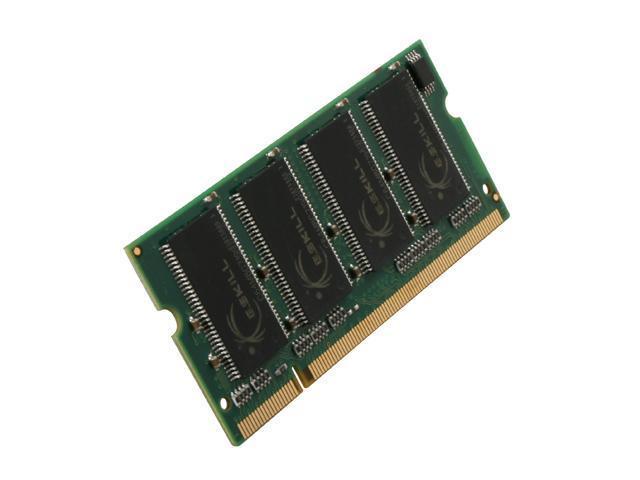 G.SKILL 512MB 200-Pin DDR SO-DIMM DDR 333 (PC 2700) Laptop Memory Model F1-2700PHU1-512SA