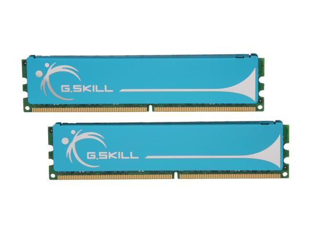 G.SKILL 4GB (2 x 2GB) 240-Pin DDR2 SDRAM DDR2 800 (PC2 6400) Dual Channel Kit Desktop Memory Model F2-6400CL4D-4GBPK