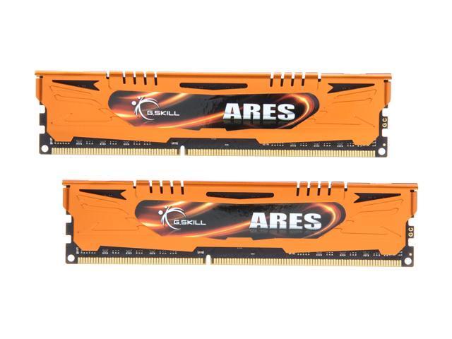 G.SKILL Ares Series 8GB (2 x 4GB) 240-Pin DDR3 SDRAM DDR3 2133 (PC3 17000) Desktop Memory Model F3-2133C11D-8GAO