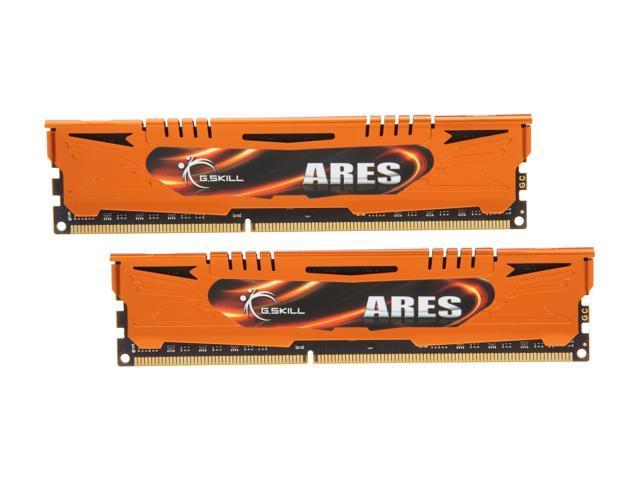 G.SKILL Ares Series 16GB (2 x 8GB) 240-Pin DDR3 SDRAM DDR3 1333 (PC3 10666) Desktop Memory Model F3-1333C9D-16GAO