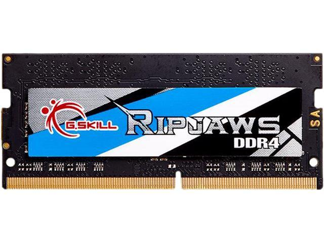 G.SKILL Ripjaws Series 8GB 260-Pin DDR4 SO-DIMM DDR4 3000 (PC4 24000) Laptop Memory Model F4-3000C16S-8GRS