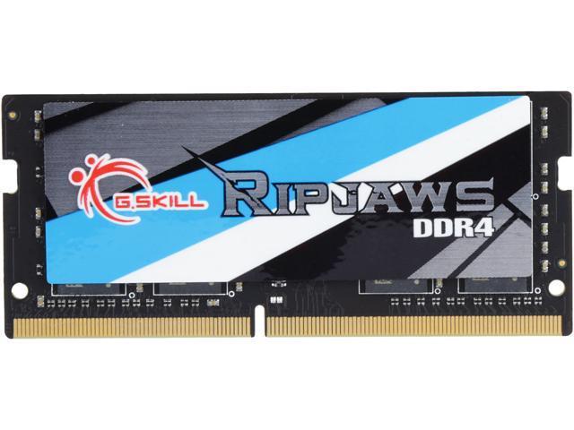 G.SKILL Ripjaws Series 16GB 260-Pin DDR4 SO-DIMM DDR4 3000 (PC4 24000) Laptop Memory Model F4-3000C16S-16GRS