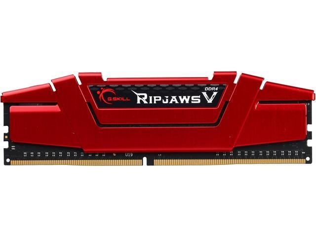 G.SKILL Ripjaws V Series 8GB 288-Pin DDR4 SDRAM DDR4 2800 (PC4 22400) Intel Z170 Platform Desktop Memory Model F4-2800C17S-8GVR
