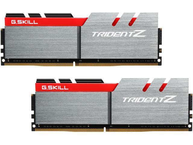 G.SKILL TridentZ Series 32GB (2 x 16GB) 288-Pin DDR4 SDRAM DDR4 3200 (PC4 25600) Intel Z170 Platform Memory (Desktop Memory) Model F4-3200C16D-32GTZ