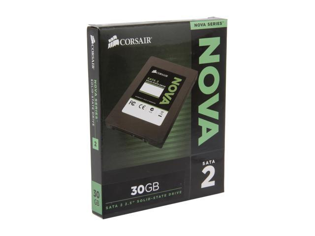 "Corsair Nova Series 2 2.5"" 30GB SATA II Internal Solid State Drive (SSD) CSSD-V30GB2A"