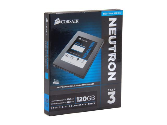 "Corsair Neutron Series 2.5"" 120GB SATA III Internal Solid State Drive (SSD) CSSD-N120GB3-BK"