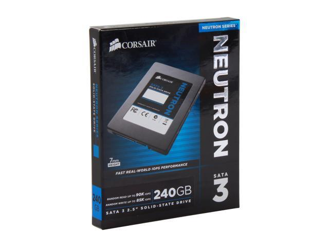 "Corsair Neutron Series 2.5"" 240GB SATA III Internal Solid State Drive (SSD) CSSD-N240GB3-BK"