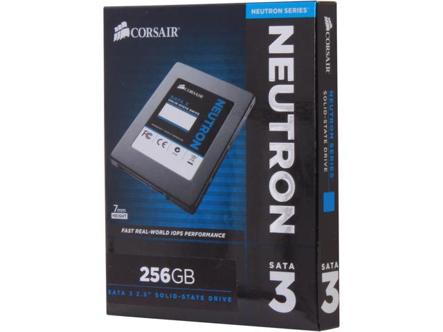 "Corsair Neutron Series 2.5"" 256GB SATA III Internal Solid State Drive (SSD) CSSD-N256GB3-BK"