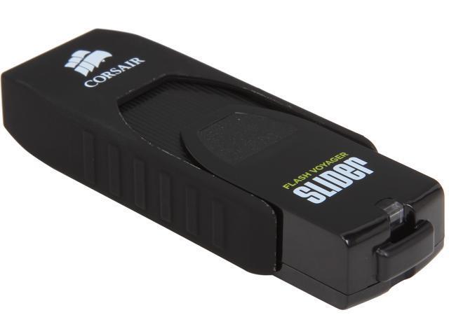 CORSAIR Voyager Slider 32GB USB 3.0 Flash Drive Model CMFSL3-32GB/RF
