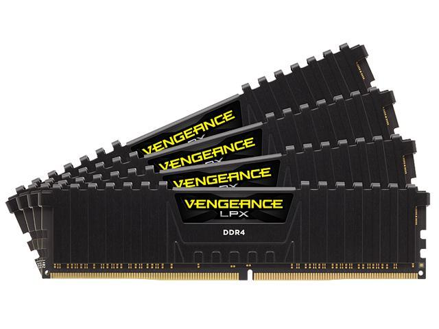 CORSAIR Vengeance LPX 32GB (4 x 8GB) 288-Pin DDR4 SDRAM DDR4 3333 (PC4 26600) Desktop Memory Model CMK32GX4M4B3333C16