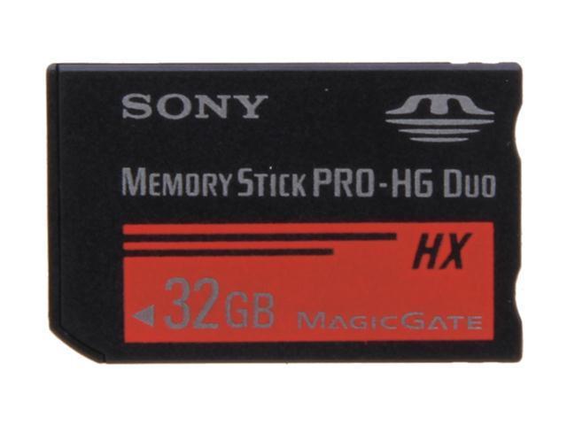 SONY 32GB Memory Stick PRO-HG Duo HX Flash Card Model MSHX32B