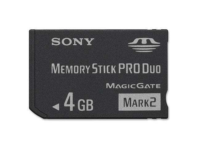 SONY 4GB Memory Stick Pro Duo (MS Pro Duo) Flash Card