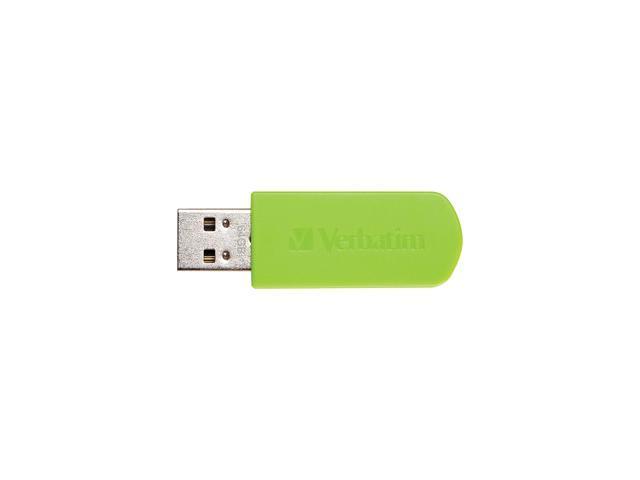 Verbatim Store 'n' Go Mini 64 GB USB 2.0 Flash Drive - Green