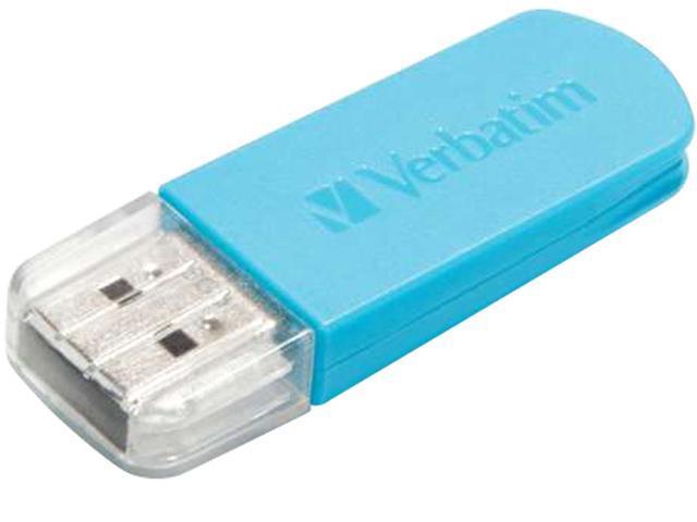 Verbatim 16GB Store 'n' Go® Mini USB Drive - Caribbean Blue