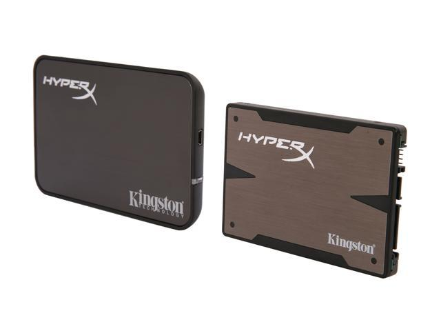 "HyperX 3K 2.5"" 120GB SATA III MLC Internal Solid State Drive (SSD) (Upgrade Bundle Kit) SH103S3B/120G"