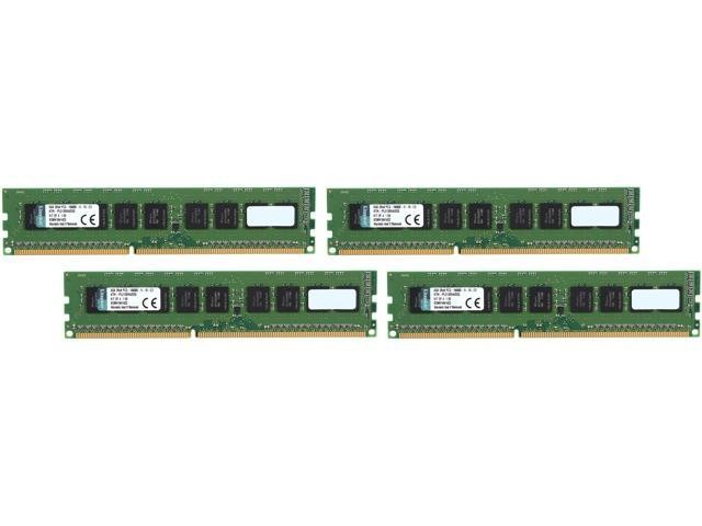 Kingston 32GB (4 x 8GB) 240-Pin DDR3 SDRAM DDR3 1333 ECC System Specific Memory Model KTH-PL313EK4/32G