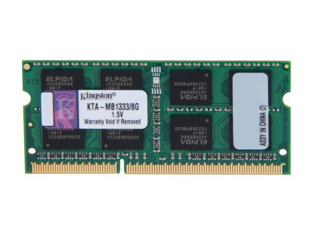 Kingston 8GB DDR3 1333 Memory for Apple Model KTA-MB1333/8G