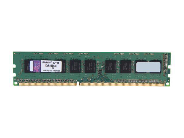 Kingston ValueRAM 8GB 240-Pin DDR3 SDRAM ECC Unbuffered DDR3 1333 Server Memory Intel Model KVR13E9/8I