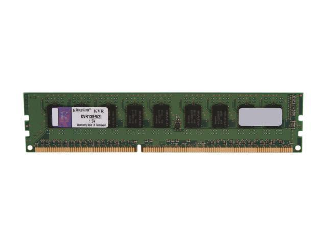 Kingston 2GB 240-Pin DDR3 SDRAM ECC Unbuffered DDR3 1333 (PC3 10600) Server Memory Intel Model KVR13E9/2I