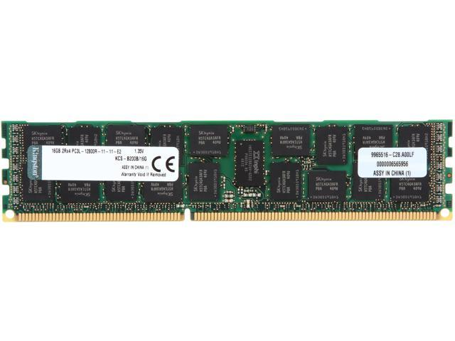 Kingston 16GB DDR3 1600 ECC Registered System Specific Memory Model KCS-B200B/16G