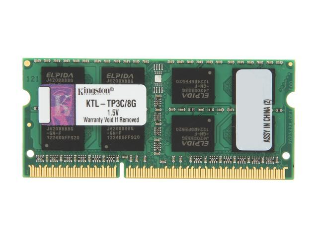 Kingston 8GB 204-Pin DDR3 SO-DIMM System Specific Memory