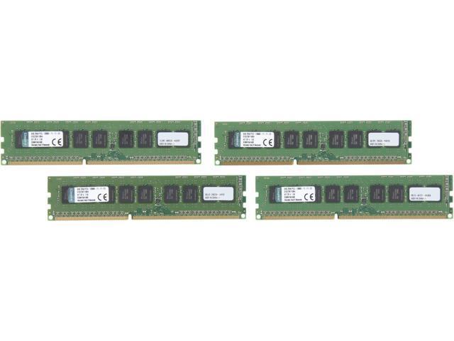 Kingston 32GB (4 x 8GB) DDR3 1600 ECC System Specific Memory Model D1G72K110K4