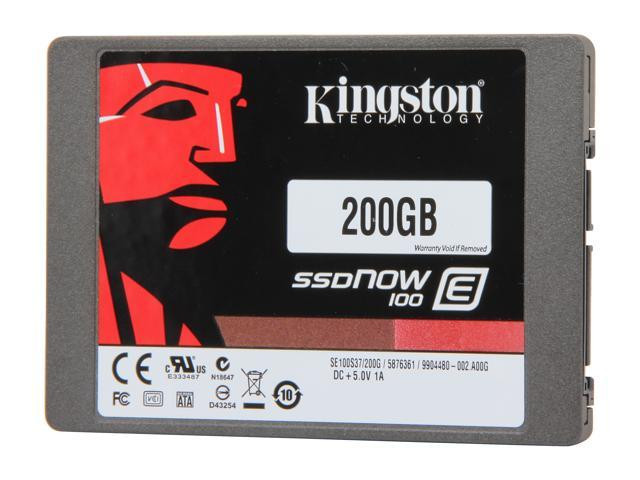 Kingston SSDNow E100 SE100S37/200G 2.5