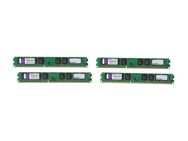 Kingston 32GB (4 x 8GB) 240-Pin DDR3 SDRAM Unbuffered DDR3 1333 Server Memory Model KVR1333D3N9K4/32G