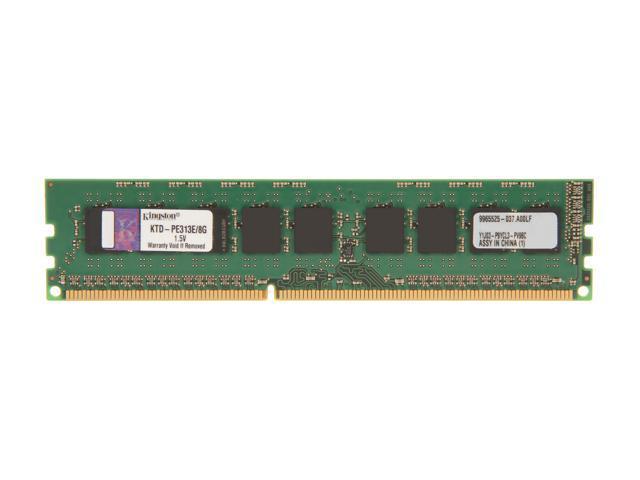 Kingston 8GB 240-Pin DDR3 SDRAM DDR3 1333 ECC System Specific Memory Model KTD-PE313E/8G