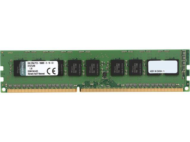Kingston 8GB 240-Pin DDR3 SDRAM ECC DDR3 1333 System Specific Memory Model D1G72J90