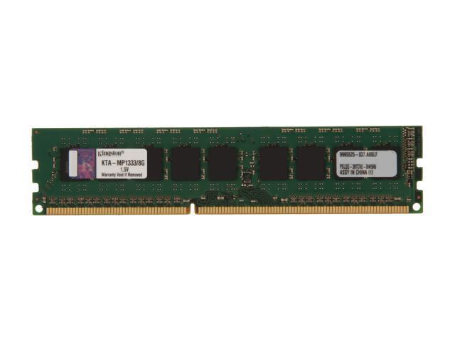 Kingston 8GB DDR3 1333 ECC Memory for Apple  with thermal sensor Model KTA-MP1333/8G