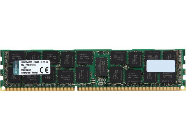 Kingston 16GB 240-Pin DDR3 SDRAM DDR3 1333 ECC Registered System Specific Memory Model KFJ-PM313LV/16G