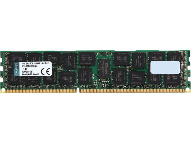 Kingston 16GB 240-Pin DDR3 SDRAM DDR3 1333 ECC Registered System Specific Memory Model KFJ-PM313LV/16G