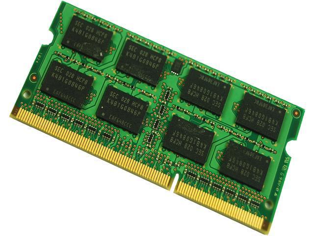 Kingston 2GB 204-Pin DDR3 SO-DIMM DDR3 1333 Laptop Memory Model TSB1333D3S9SR8/2G
