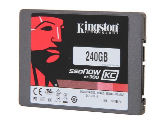 Kingston SSDNow KC300 SKC300S37A/240G 2.5